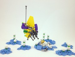 The Truth is Out There (A Plastic Infinity) Tags: lego alien awesomeness drone alienplanet