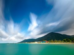 Trujillo, Honduras (chackralat) Tags: sea sky honduras trujillo bwcpl kenkondpro10000 kenkotokina2015