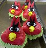 Andry Bird Cupcakes
