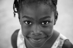 Barbados-7 (L ale) Tags: travel portrait people blackandwhite bw black girl smile blackwhite eyes sguardo barbados caribbean sorriso ritratto bimba blackandwhitephotography bajan caraibi