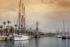 Port Vell Barcelona (rankomatik) Tags: ocean barcelona clouds ship catalunya portvell sigma30mmf28 sonyalpha6000