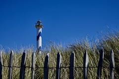 Phare -  Vuurtoren - Lighthouse (BelgiumOnePoint) Tags: sea mer beach strand fishing sand sable noordzee zee oostende plage vissen bredene merdunord zand ostende pche nerdunord