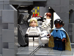 DEATH STAR WORLD 06 (baronsat) Tags: rescue star lego cell prison wars leia lando