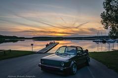 Cabriotime (micha-63) Tags: auto car vw golf bayern nikon franken cabrio frhling obenohne d90 hilpoltstein