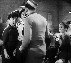 Not part of the main scene (theirhistory) Tags: uk london film boys hat kids children war wwii kinderen tie crime jacket cap gb ww2 jumper 1942 adults villians bfilm johntacchi