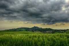 Turbato (crestig9) Tags: al nuvola cloudy wheat erba cielo campo valdorcia calma hdr paesaggio colline collina grano pianta pianura nuvoloso pomeriggio allaperto distesa erbosa