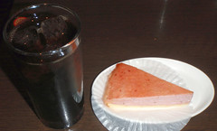 #8047 snack: iced coffee and strawberry mille feuille (Nemo's great uncle) Tags: tokyo strawberry snack  pronto millefeuille kameido kotoku