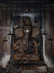 """Pillaiyaar @ Kundraandaar Temple Cave - Pudukottai District-Tamilnadu. (Kalai """"N"""" Koyil) Tags: architecture temple nikon d tokina 5200 tamilnadu cavetemple rockcut southindian pudukkottai koyil 1116mm pillaiyaar mutharaiyar kunnandar"""