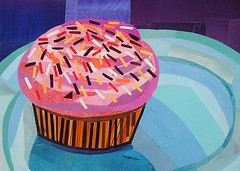 Sprinkles and Cupcakes Make Everything Better (Megan Coyle) Tags: stilllife art cake collage illustration paperart dessert cupcakes yum sprinkles collageart foodart cutandpaste papercollage dessertart cupcakeart magazinecollage cupcakecollage foodcollage megancoyle paintingwithpaper