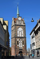Rostock Germany.  City gate. (Anne and David.) Tags: germany rostock citygate