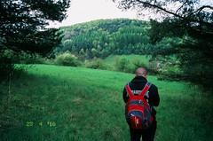 Horn Sa (michal_zilinsky) Tags: trip film analog 35mm countryside spring fuji slide dia velvia jar fujifilm slovensko slovakia 50 fujichrome diafilm trenn horn sa