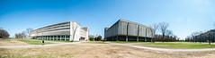 DSC_5795-Panorama (Koma White) Tags: canada america cityscape quebec universit qubec northamerica laval saintlaurent fac universitdelaval lavaluniversity