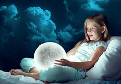 Girl in her bed and moon planet (noor.khan.alam) Tags: blue school sky moon color cute girl smile childhood mystery female night evening kid nice bed bedroom pretty nap child hand bright little sweet sleep small dream young relaxing adorable happiness full pillow explore sleepy study nighttime age tired blanket planet imagination bedtime glowing childish russianfederation