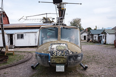 Miracle of American Museum (flippers) Tags: old usa jason museum america vintage weird us montana dad unitedstates military retro huey helicopter american scrap oldfashioned polson miracleofamericanmuseum