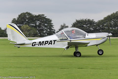 G-MPAT - 2010 build Aerotechnik EV-97 Eurostar, arriving at Sywell during the 2015 LAA Rally (egcc) Tags: northampton dale eurostar microlight orm lightroom ev97 sywell 3919 aerotechnik evektor cosmikaviation rotax912 egbk laarally gmpat 2015laarally