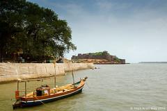 View of Vijaydurg from Jetty01 (keyaart) Tags: creek fort konkan vijaydurg
