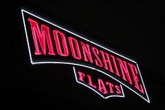 she gives me moonshine whiskey{explored} (woodwork's) Tags: moonshineflats sandiego moonshinewhiskey vanmorrison neon signporn sign