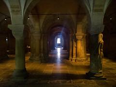 The crypt (oldest part) in Lund Cathedral, Sweden (patrickmandersson) Tags: lund skne cathedral churches sverige kyrkor svenskakyrkor