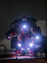 Hulk Buster (PowerPee) Tags: toy ironman marvel tonystark hulkbuster kingarts 19thscale fujixpro2