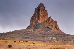 Agathla Peak (clearbluelight) Tags: arizona usa mountain landscape rocks ngc geology monumentvalley nikond200 nikon18135
