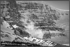 Snow Dome Avalanche (Maclobster) Tags: snow rockies canadian dome avalanche slipstream