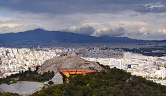 We don't remember days, we remember moments (EU_ET) Tags: city landscape view ciudad paisaje athens mount greece grecia atenas vista monte cima