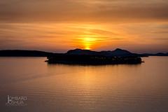 Sunset in Dubrovnik-JLombard (joshualombard) Tags: sunset water croatia hr dubrovnik oldcity dubrovakoneretvanskaupanija dubrovakoneretvanskaupanij