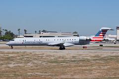 American Eagle (Mesa Airlines) Bombardier CRJ-900ER N908FJ (jbp274) Tags: lgb klgb longbeach daughertyfield airport airplanes americaneagle mesaairlines yv bombardier crj