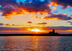 Sunset (Francesco Impellizzeri) Tags: sunset clouds port sicilia trapani