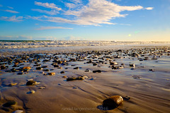 eden on the bay1 (WITHIN the FRAME Photography(5 Million views tha) Tags: landscape seascape horizon beach nature stones shapes textures clouds surf westerncape southafrica wide fuji xt1
