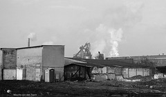 Im Ruhrgebiet (1) (Maurits van den Toorn) Tags: industrie industry industrial ruhrgebiet dortmund schwarzweiss blackandwhite germany