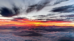 Sunset at 10,000 feet (pbuschmann) Tags: altitude haleakala sunsetporn