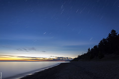 Dawn | Lake Superior | Michigan (gauss2402) Tags: landscape star tarils night photography lake superior michigan 12 mile campground colors dawn sunrise