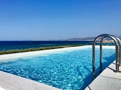 Morning panorama (dorianodisalvo) Tags: morning travel sun beach horizon swimmingpool sans iphone panorma