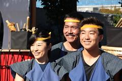 LA Matsuri Taiko group, Los Angeles (vtpoly) Tags: california people smile smiling musicians america japanese us losangeles faces group smiles culture taiko drumming drummers obon nishi japanesefestival 2016 hongwanji lamatsuritaiko polywoda