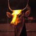 Ägypten 1999 (267) Luxor-Museum: Kuhgöttin Mehit-Weret/Hathor