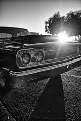 Dodge (autobahn66.com) Tags: california sunset blackandwhite usa america sandiego detroit streetphotography cruising racing socal chrome dodge sixties v8 musclecar escondido quartermile