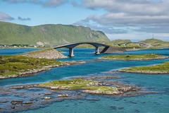 Lofoten Bridges (Maria-H) Tags: bridge lofotenislands sea panasonic gh4 dmcgh4 1235 nordland norway no