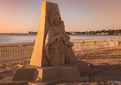 SSS_0197 (Sam 8899) Tags: sand sculpture beach sunrise morning light sky sea color