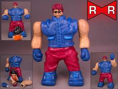 ST. Metallic (-iacopo / Minifigures / Custom-) Tags: toy lego redribbon minifig metallic goku dragonball imc italy customminifig custom blue white sferedeldrago bigfigure superheroes