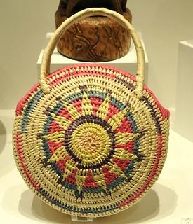 Maya Basket Canasta Yucatan Mexico