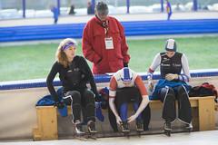A37W6528 (rieshug 1) Tags: speedskating schaatsen eisschnelllauf skating nkjunioren knsb nkjuniorenallroundafstanden afstanden allround 50010001500massstart demeent alkmaar sportcomplexdemeent juniorenc ladies dames 500m