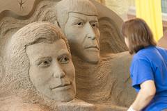 DUG_7441r (crobart) Tags: karen fralich star trek sand sculpture canadian national exhibition cne toronto