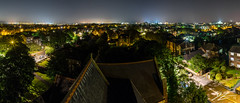 Praise Be (Tim van Zundert) Tags: st botolphs church heene worthing west sussex south east england roof landscape town skyline panorama light pollution height view night evening long exposure sony a7r voigtlander 21mm ultron