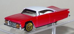 K5__9316 (jackt002) Tags: diecast custom repaint red white 59 1959 chevy chevrolet impala