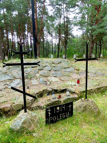 Inowłódz - Russian war cemetery, WWI (3)