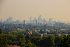 City of London view from Parliament Hill, London, United Kingdom (topwh) Tags: city cityoflondon london parliament parliamenthill hill ldn