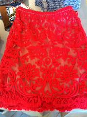 pattern design inspiration (elizajanecurtis) Tags: anthropologie design floral floweres inspiration skirt