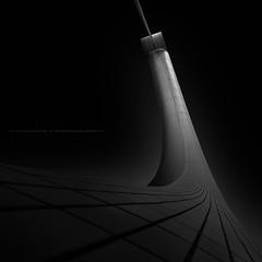 o b s c u r i t y (Jin Mikami) Tags: bw architecture bridge japan black white monochrome dark surreal darkness bnw minimalism fineart