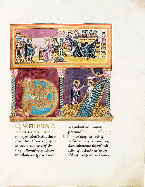Schnü-35 Das Fuldaer Sakramentar in Goettingen
